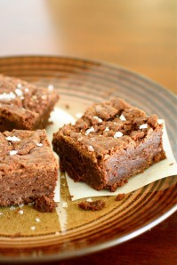 Sea Salt Fudge Brownies