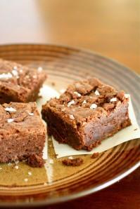 Sea Salt Fudge Brownies