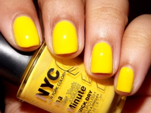 NYC Lexington Yellow Nail Polish