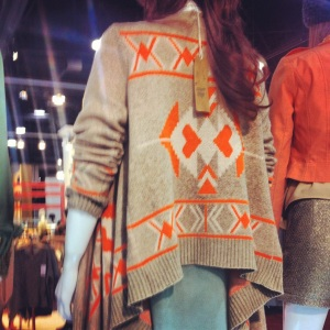 Very J Tribal Sweater