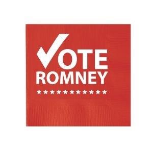 Romney napkin