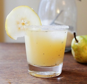 Vanilla, Pear & Vodka Cocktail
