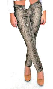 Sabrina Snakeprint Skinny