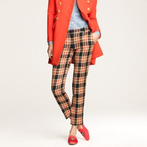 J Crew Plaid Pants
