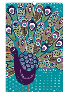 Paper Source 2013 Wall Art Calendar