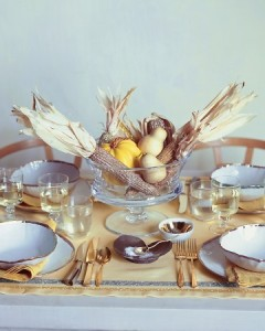Golden Harvest Table