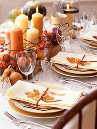 Fall Colors Table