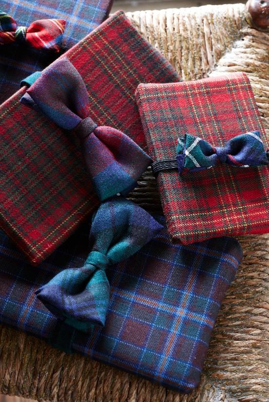 Vintage Bow Tie Wrap