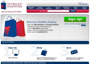 Skymiles Shopping