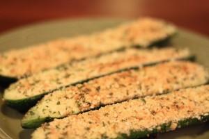 Zucchini Parmesean