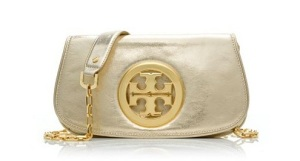 Tory Burch Logo Clutch