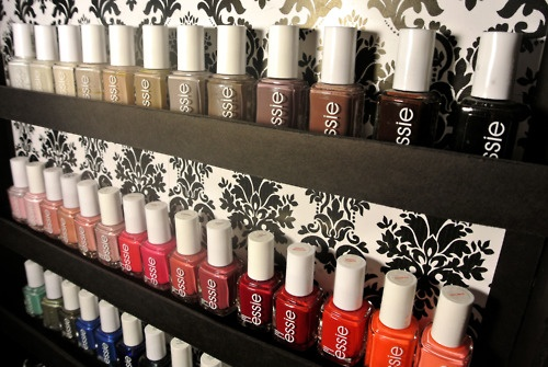 Essie Nail Polish Shelf