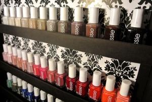 Essie Nail Polish Shelf