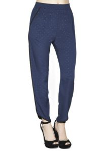 Navy Pajama Trouser