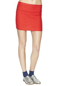 Red Pullover Skirt