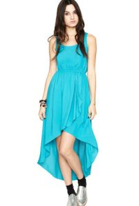 High-Low Hem Dress