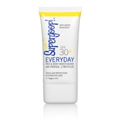 this is one sophisticated sunscreen.
