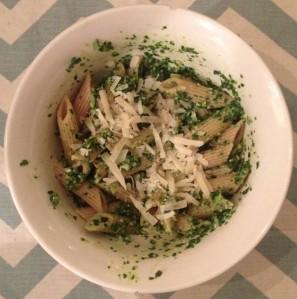 Kale Pesto + Penne