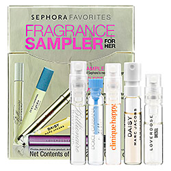 The Glitter Life Sephora Fragrance Sampler