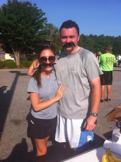 J & Jay after the Stache Dash at Burro Loco in Myrtle Beach last year!
