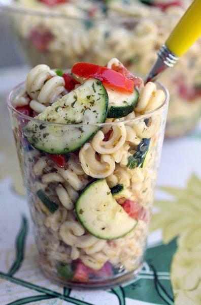 The Glitter Life Pasta Salad