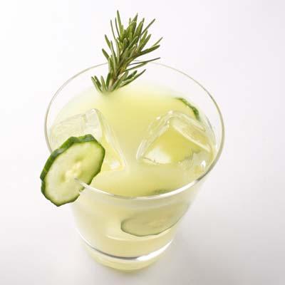 The Glitter Life Cucumber Lemonade Chiller