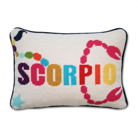 The Glitter Life Jonathan Adler Scorpio Pillow