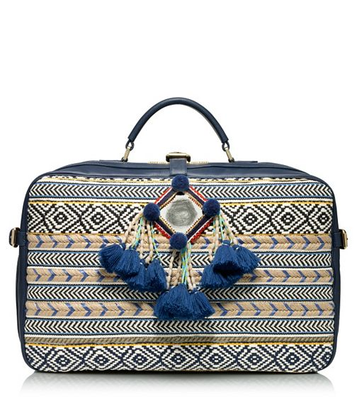 The Glitter Life Tory Burch Mochila Suitcase