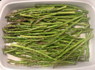 The Glitter Life Grilled Asparagus