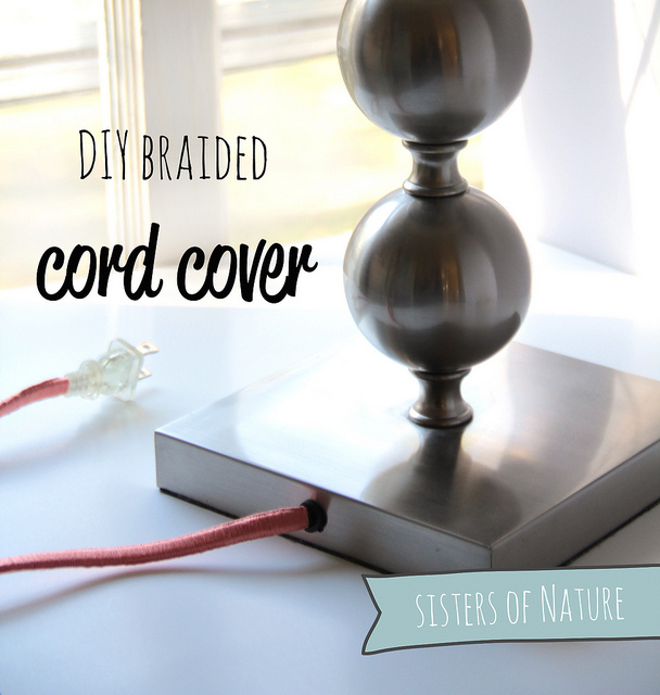 The Glitter Life Braided Cord Cover
