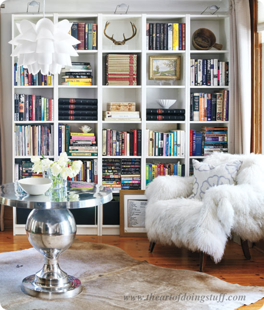 The Glitter Life How To Style Bookshelves