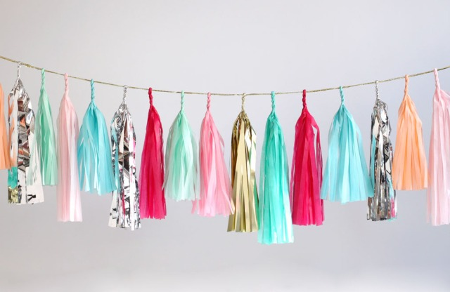 The Glitter Life Tassle Garland