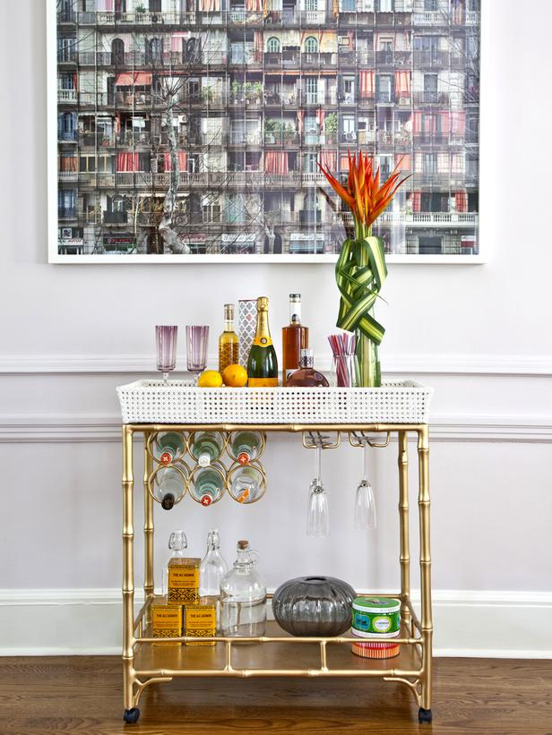 The Glitter Life Bar Cart