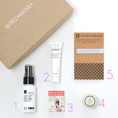 July Birchbox The Glitter Life