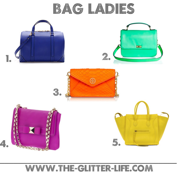 The Glitter Life Bag Ladies