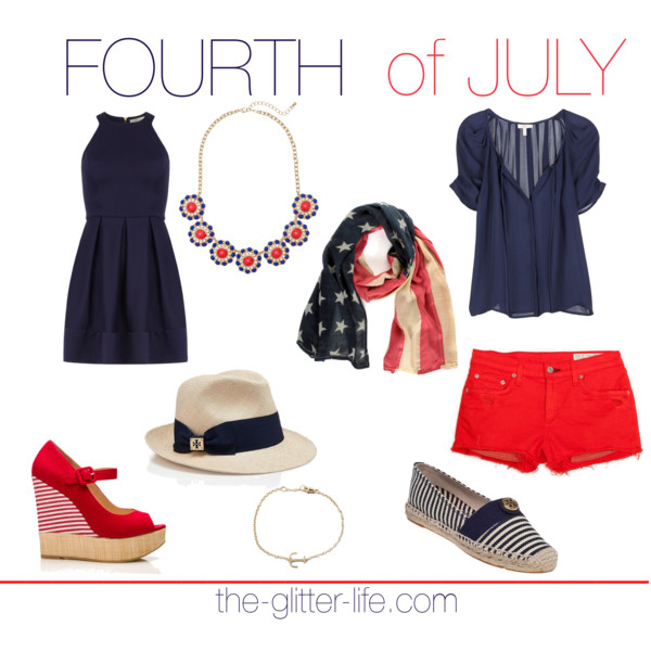 The Glitter Life Fourth of July