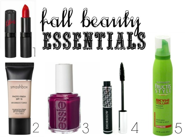 The Glitter Life Fall Beauty Essentials