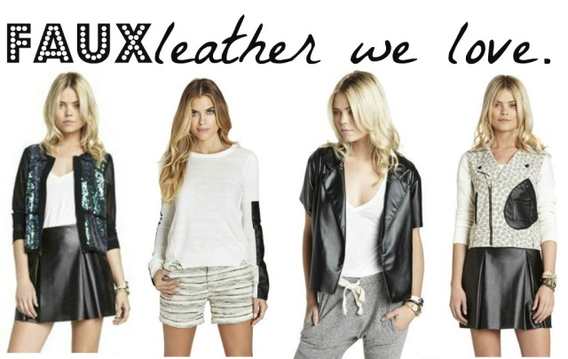 Faux Leather We Love