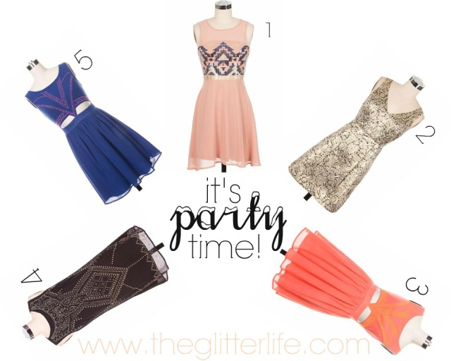 The Glitter Life Party Dresses