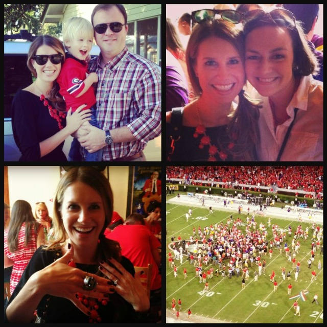 The Glitter Life UGA Weekend