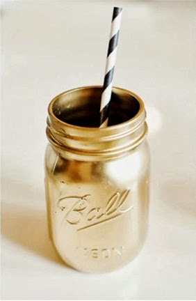 metallic-spray-paint-diy-mason-jar