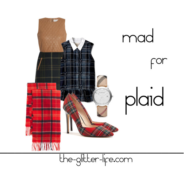 The Glitter Life Plaid