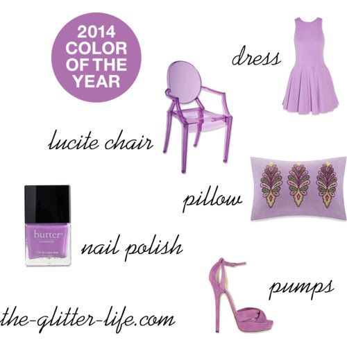 The Glitter Life Radiant Orchid