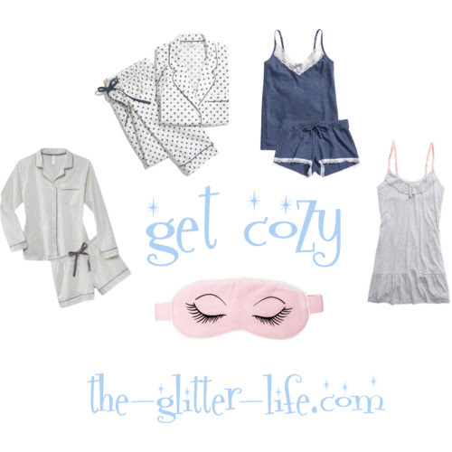 the glitter life pajamas