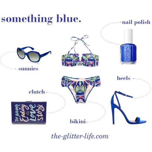 The Glitter Life Something Blue