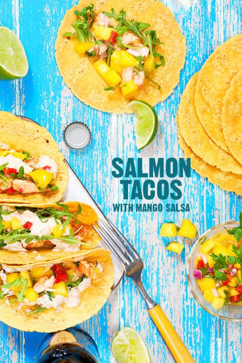Salmon Tacos The Glitter Life
