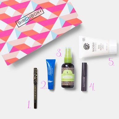 The Glitter Life September Birchbox