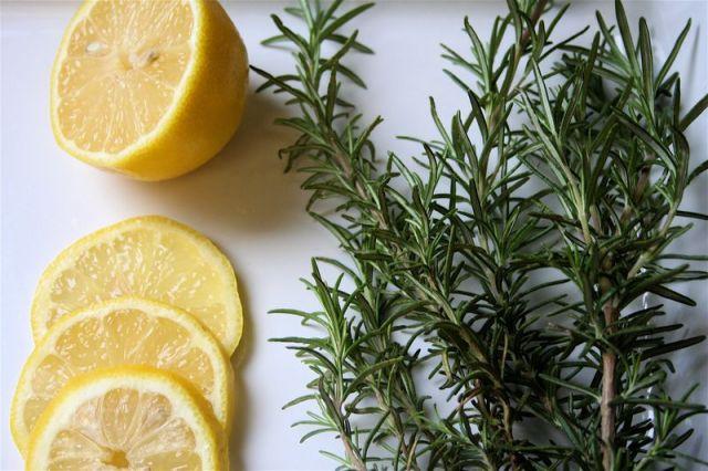 The Glitter Life Rosemary Lemon
