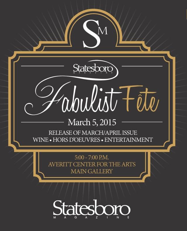 Statesboro Fabulist Invitation