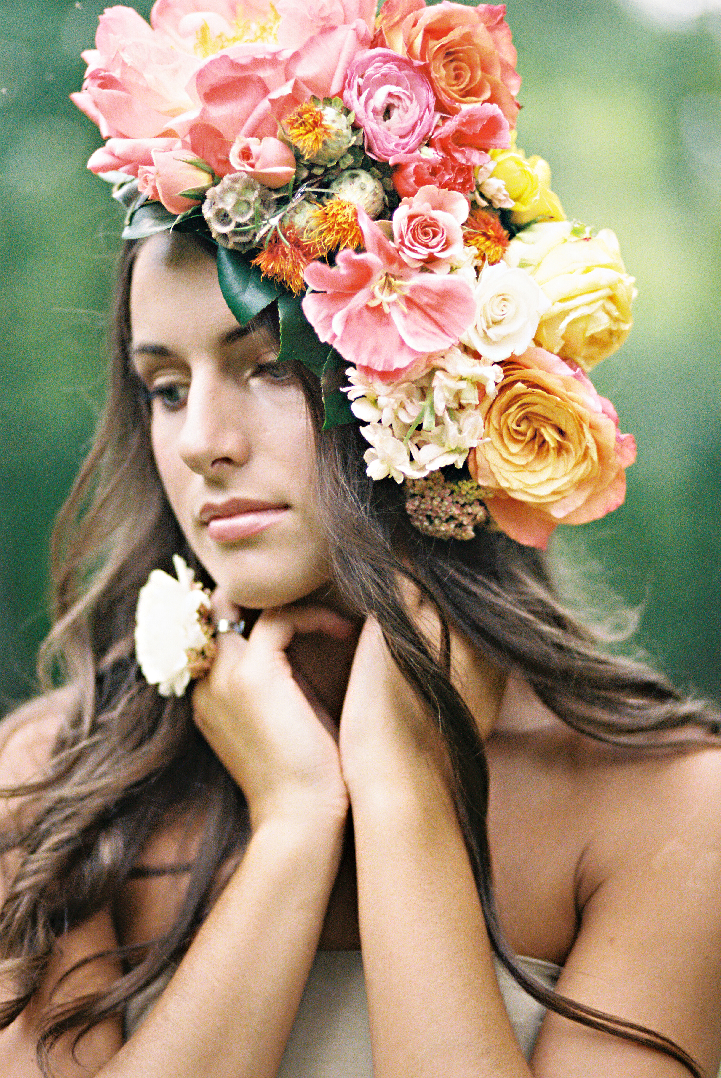 Flower crown archives the glitter life the glitter life flower crown izmirmasajfo